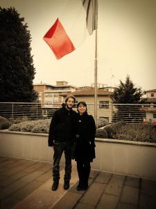Elena, Mirko e la bandiera